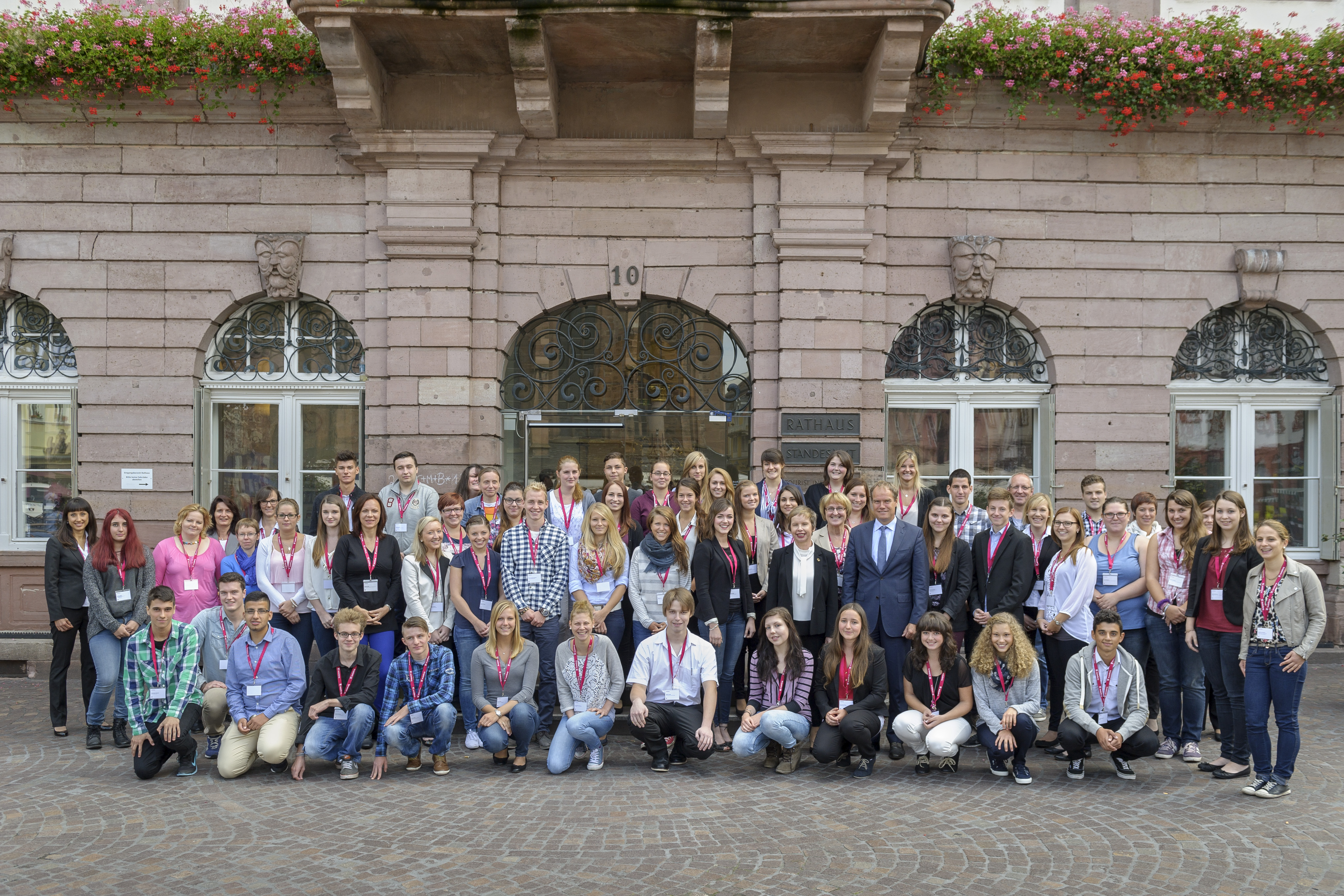 Stadtverwaltung Heidelberg begrüßt neue Auszubildende. Foto: Philipp Rothe