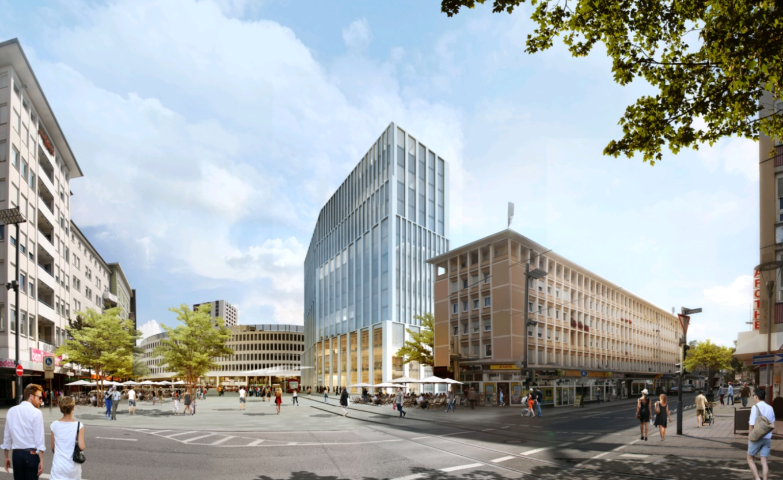 ludwigshafen architektur f r neubau am berliner platz. Black Bedroom Furniture Sets. Home Design Ideas