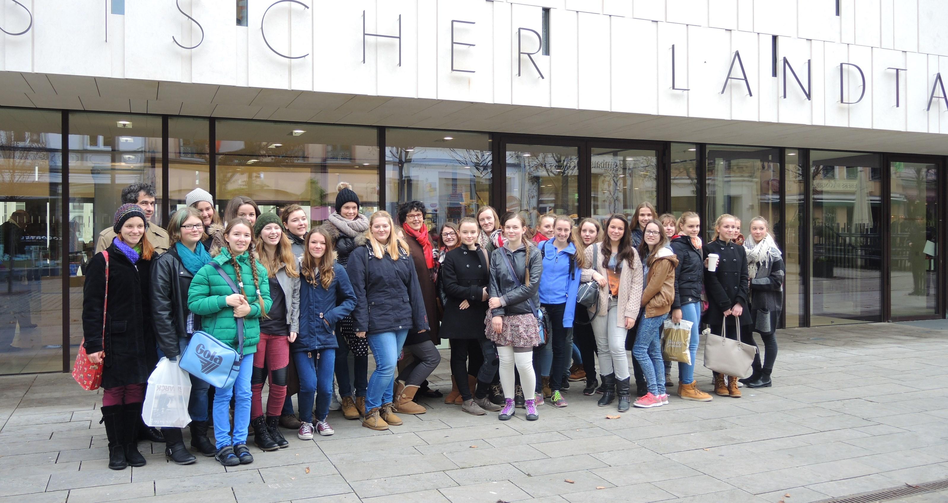 Schülergruppe Bensheim November 2014