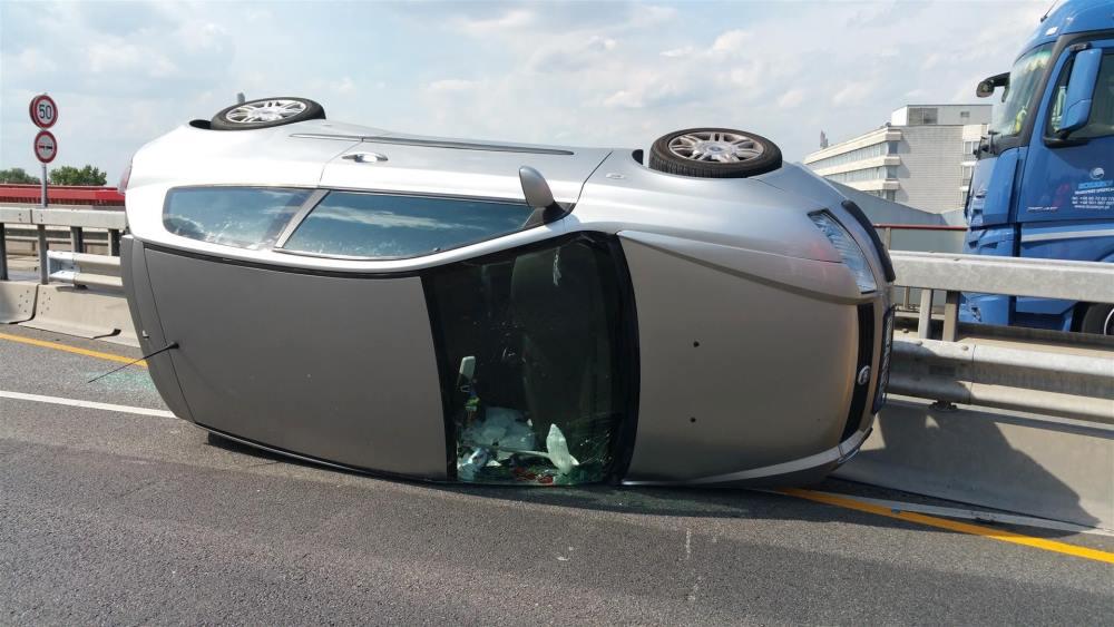 Unfall Pylonbrücke