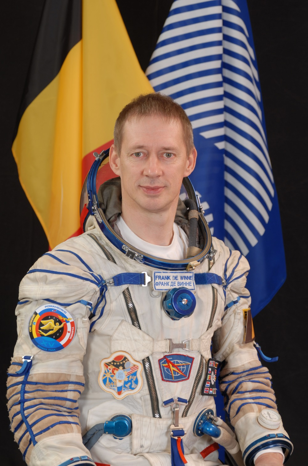 Speyer belgischer astronaut frank de winne besucht for Frank westheim