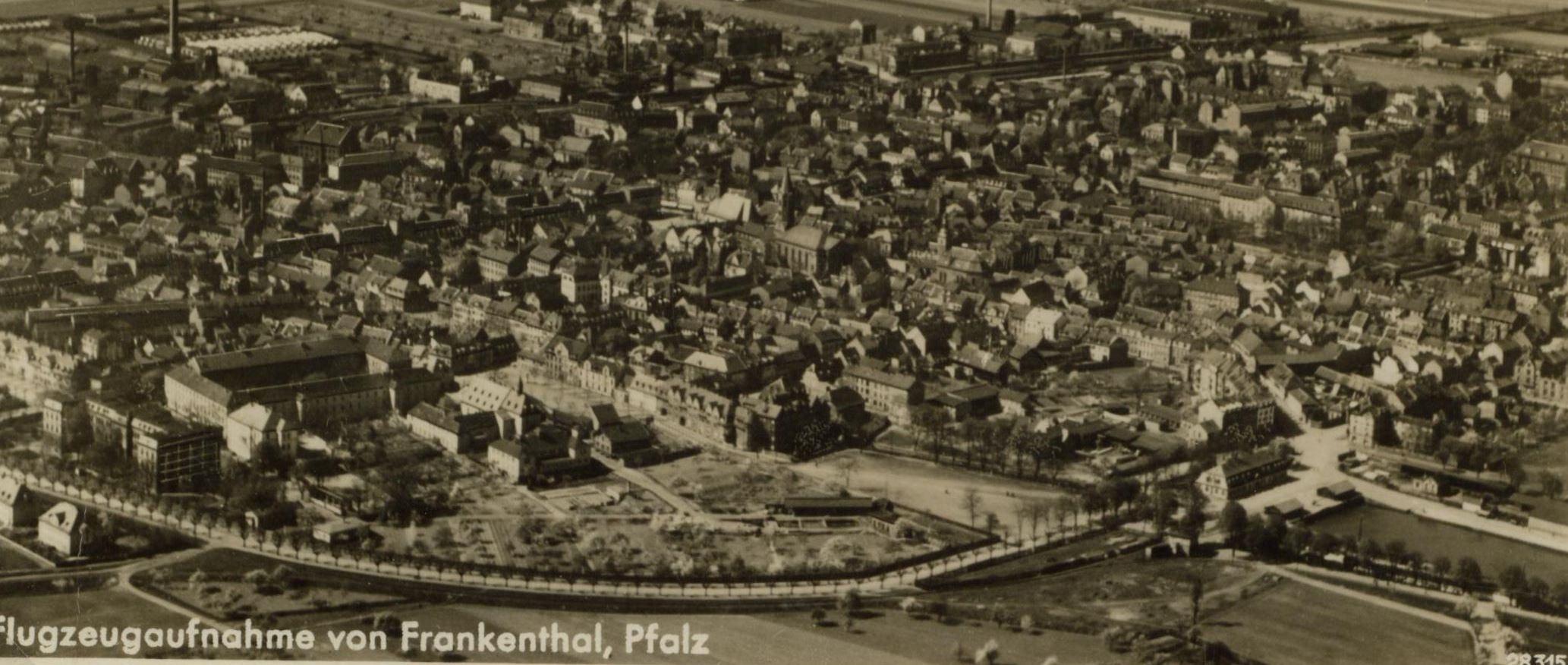 Luftbild-Frankenthal-1935