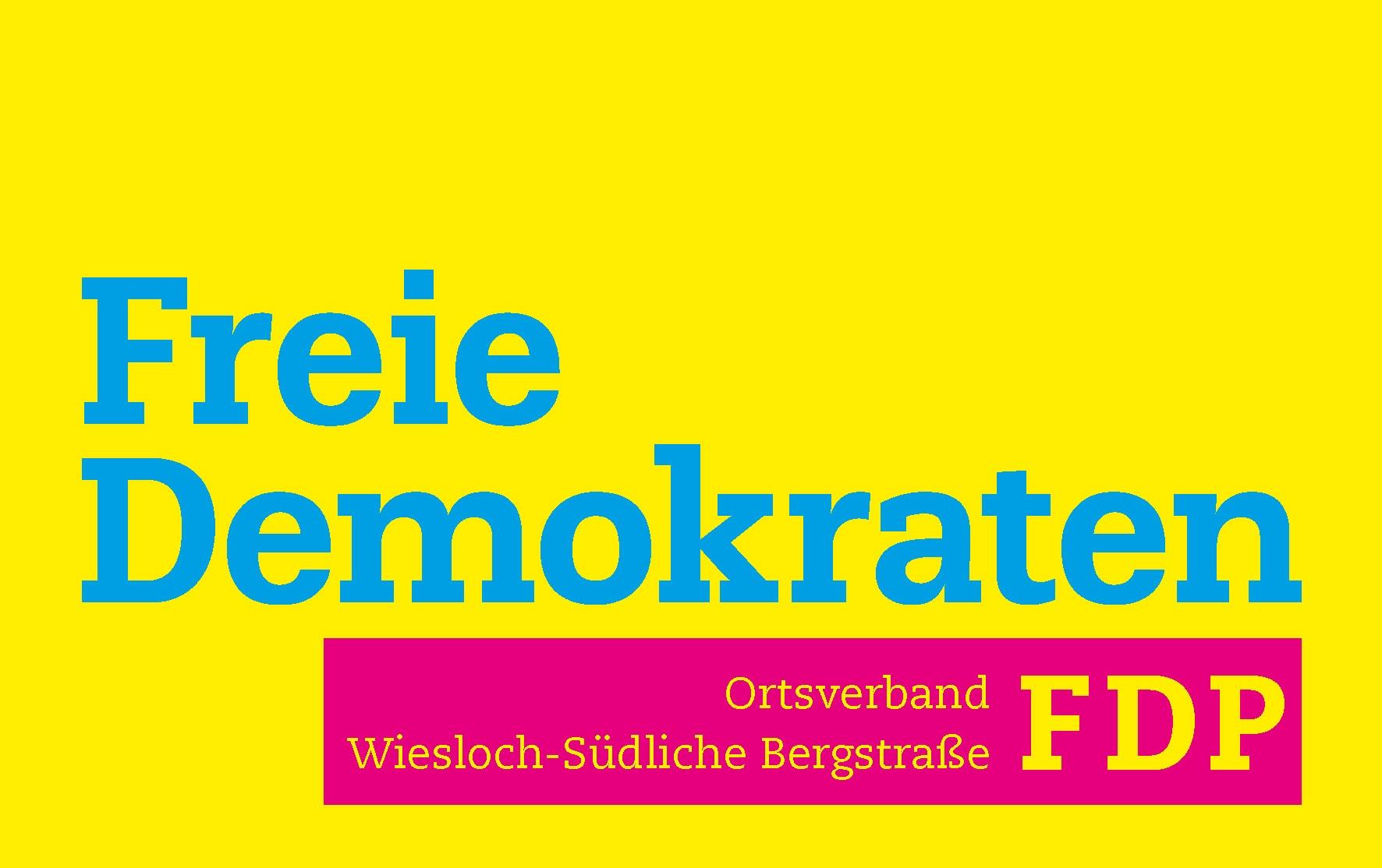 FDP_Wiesloch-Südliche Bergstraße_Logo_quadratisch