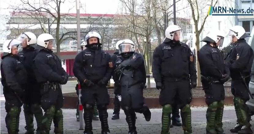 Großeinsatz Polizei