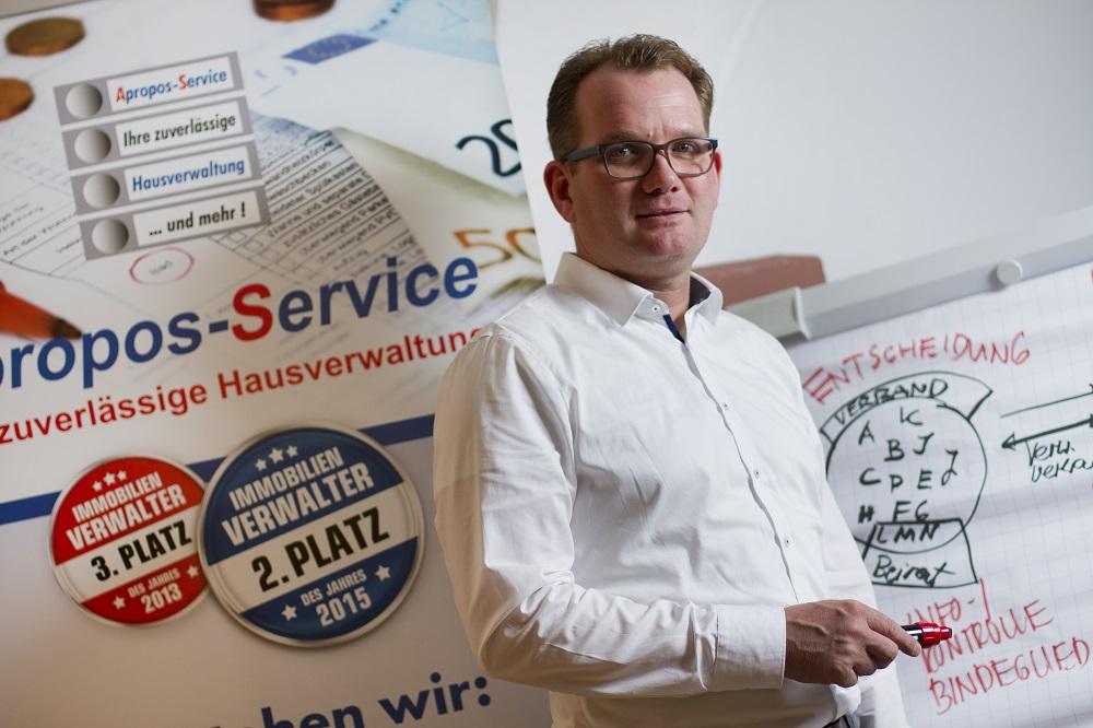 """Markus Herrmann, Geschäftsführer """"Apropos-Service"""""""