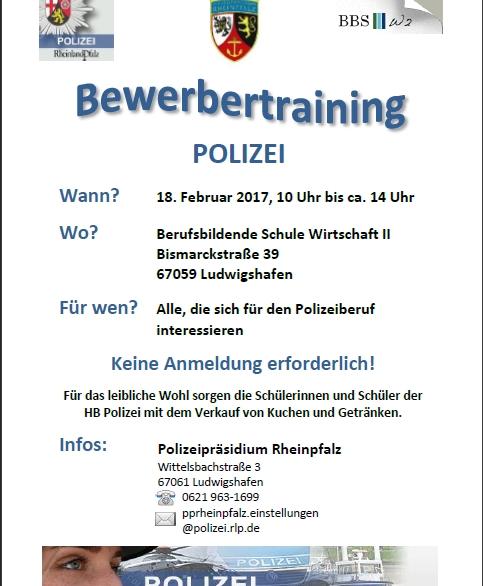Polizeibewerbungstraining