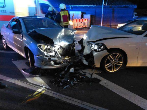 Neustadt – Unfall mit sechs Verletzten bei Frankeneck