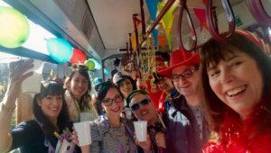 Ludwigshafen – Närrische Straßenbahn – volle Fahrt voraus!