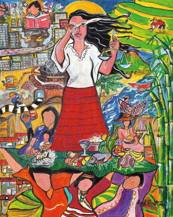 """Mannheim – Weltgebetstag fragt nach """"Fairness"""" –  Frauenpower für globale Gerechtigkeit: Gebete, Lieder, Texte von den Philippinen"""