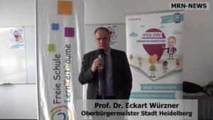Heidelberg – Vielfältige Bildungsangebote führen zum Erfolg: Oberbürgermeister Prof. Dr. Eckart Würzner besucht Freie Schule LernZeitRäume im Rahmen seiner #HolDenOberbürgermeister-Tour