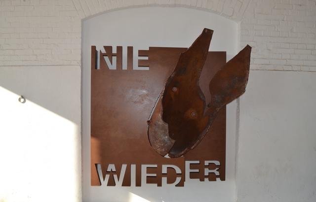Die neue Gedenkskulptur des Künstlers Karlheinz Zwick.