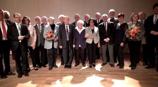 Jubilare 70 Jahre CDU