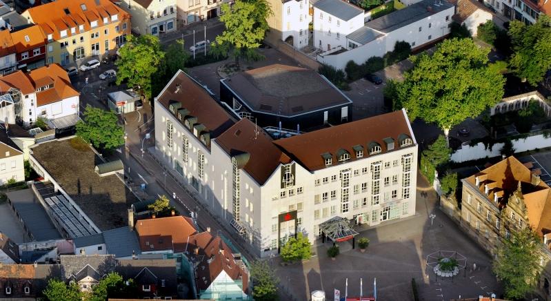 Luftbild-Sparkassen-Hauptstelle