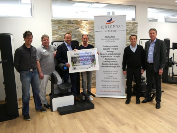 Sandhausen – SVS-Partner Therasport Heidelberg eröffnet Physiotherapie Zentrum am Hardtwald