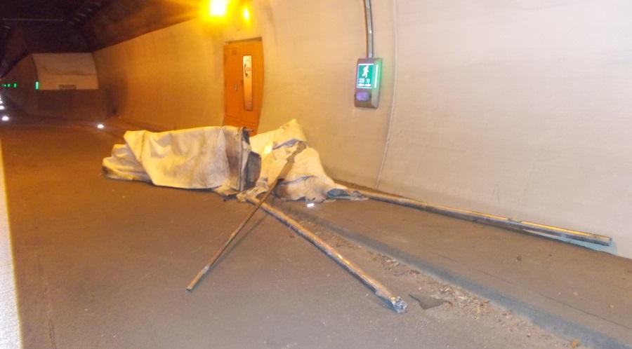 Tunnelsperrung
