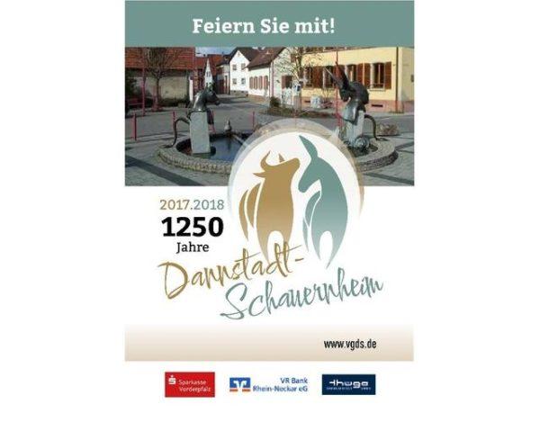 Dannstadt-Schauernheim – Großes Ortsjubiläum: 1250 Jahre Dannstadt und Schauernheim