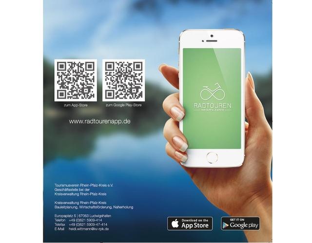Bild Radtouren-App