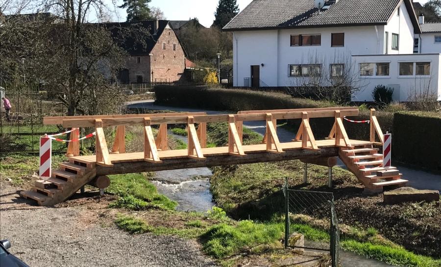 Brücke alla hopp!-# Anlage