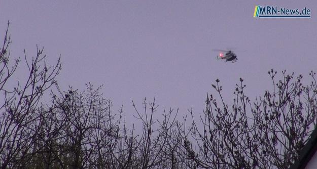 Hubschrauber Vermisstensuche