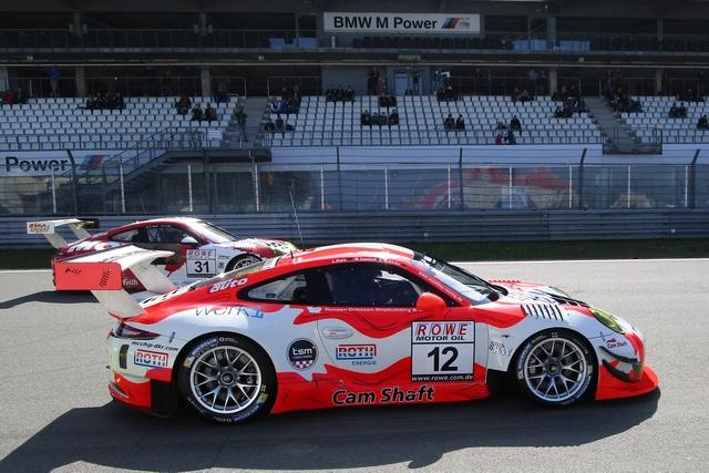 Porsche-Pilot Otto Klohs aus Ludwigshafen startete erstmals auf dem Nürburgring von der Pole Position (Foto von Martin Sonnick)