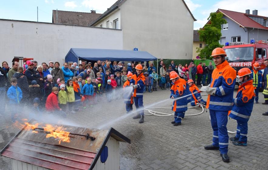 Jugendübung Tag der offenen Tür Sulzbach 2017