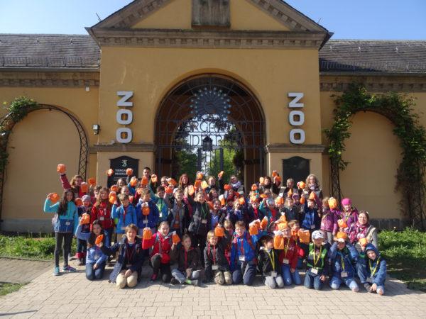 Heidelberg – Bäckerei Mantei beliefert Zooschule mit Elefanten
