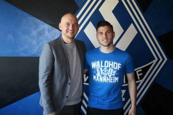 Mannheim – U19–Spieler Ilias Tzimanis unterschreibt Profivertrag beim SV Waldhof