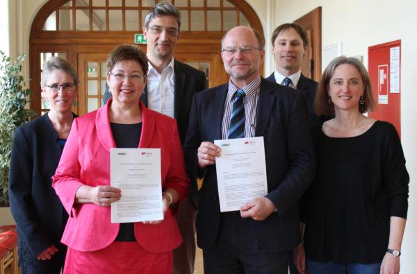 Heidelberg – PH Heidelberg und DHBW Mosbach unterzeichnen Rahmenvertrag zum Ausbau der strategischen Kooperation