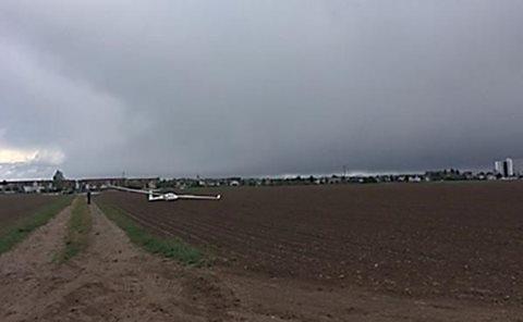 Bobenheim-Roxheim – Notlandung eines Segelflugzeuges Nachtrag