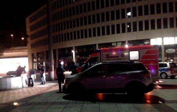 Ludwigshafen – BerlinerPlatz: Schlägerei – Polizei setzt Pfefferspray ein