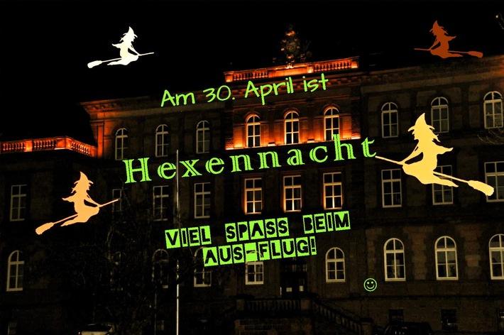 """Am 30. April ist """"Hexennacht"""". Kreative, nicht-kriminelle und gefahrlose Streiche sind angesagt!"""