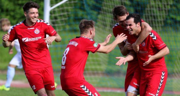 Mannheim – VfR schiesst sich in Echtes Saisonfinale – Nach 6:0-Sieg in Durlach wächst die Hoffnung auf Platz 2