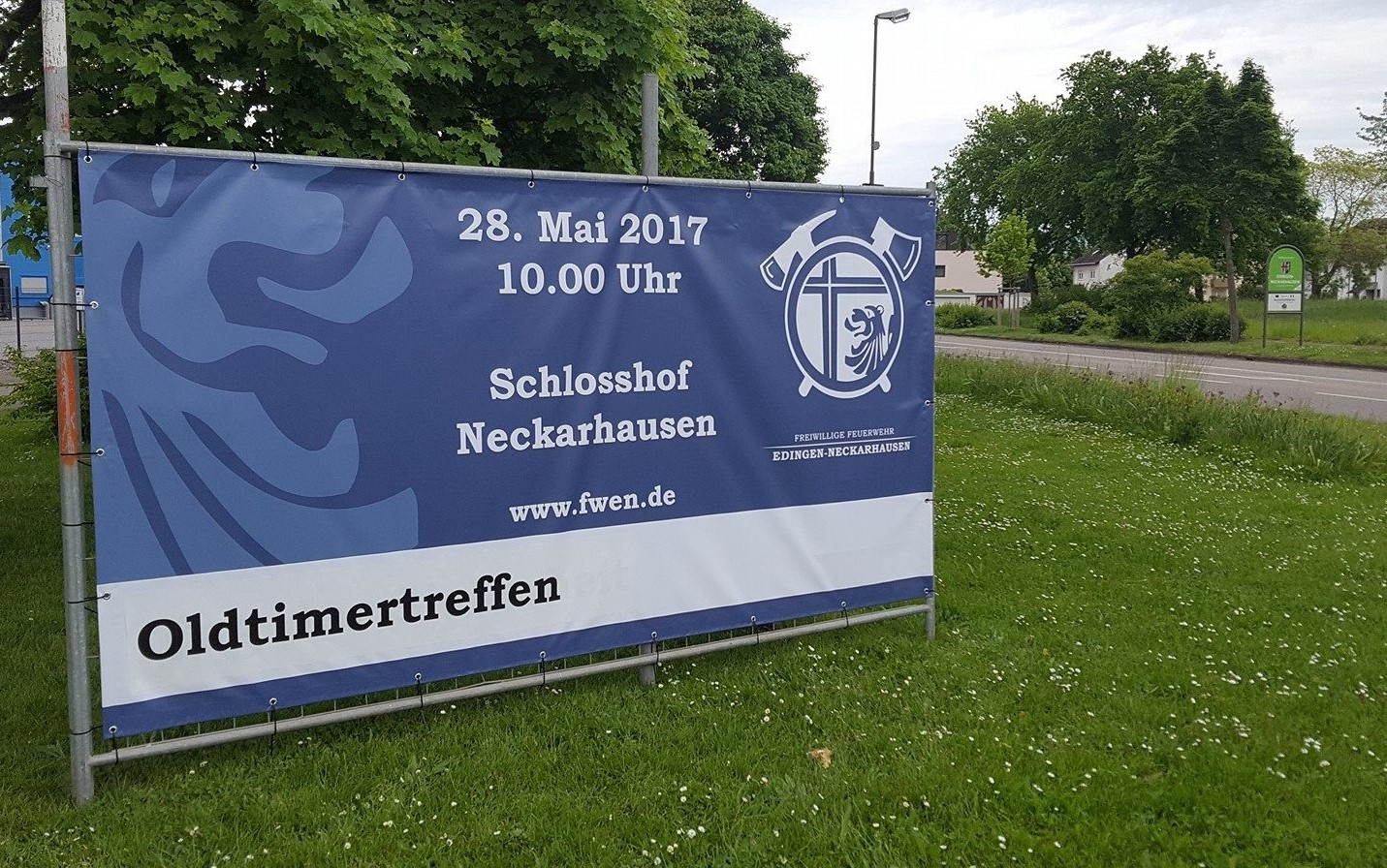 B - Feuerwehr - Werbebanner - Bild FWEN