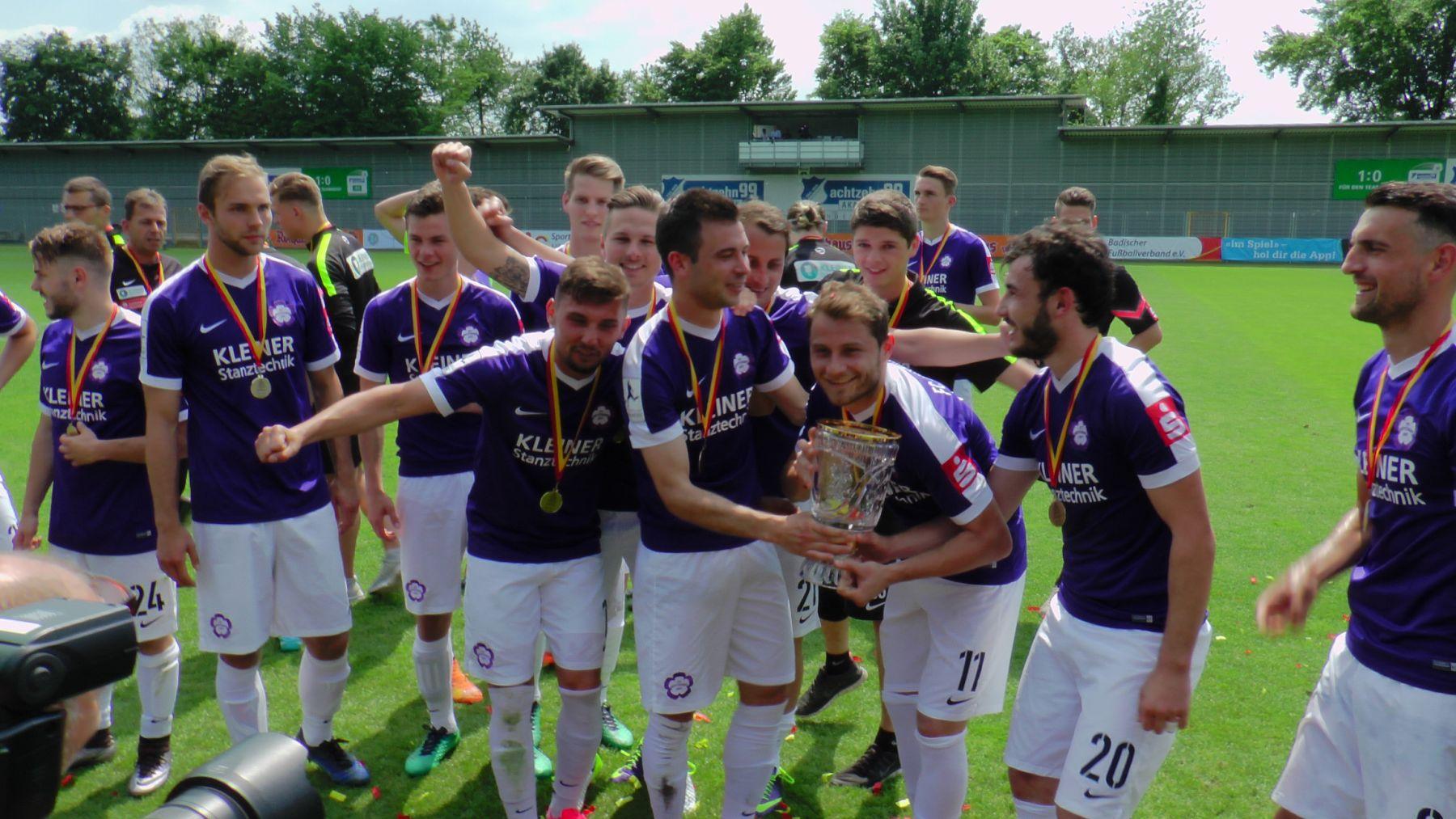 Nöttingen gewinnt den BFV-Pokal 16-17