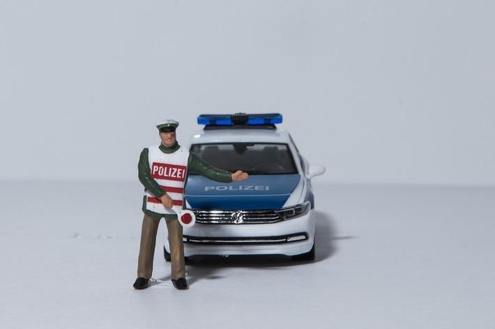 Polizeikontrolle Symbol