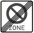 Verkehrszeichen Z 292