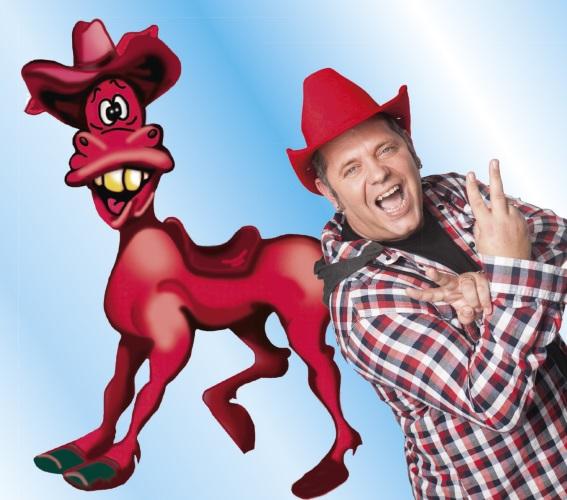 Ludwigshafen – Kinderfest mit Markus Beckers Original rotem Pferd auf dem Ludwigshafener Stadtfest