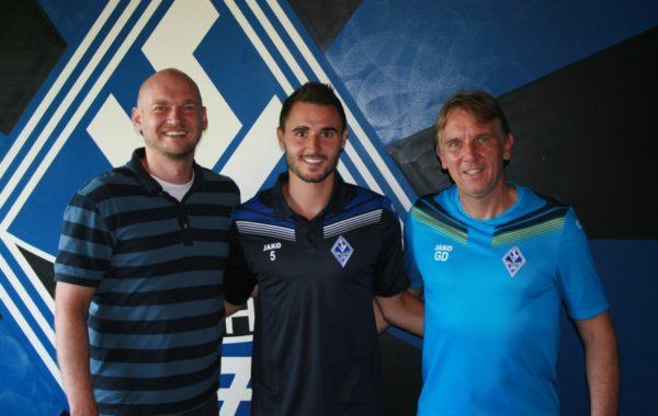 Mannheim – SV Waldhof verpflichtet Kevin Conrad
