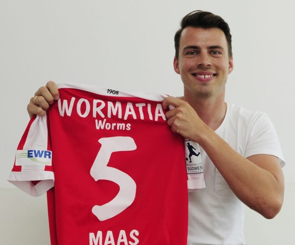 Worms – Benjamin Maas bleibt beim VfR Wormatia