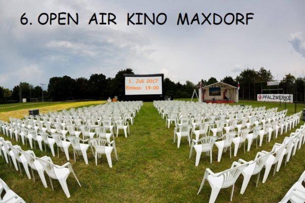 Maxdorf – Kostenloser Familientag / Open Air Kino am  Samstag, 1.Juli 2017