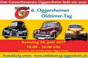 Ludwigshafen – Oggersheimer Oldtimer Tag am 24.06.2017