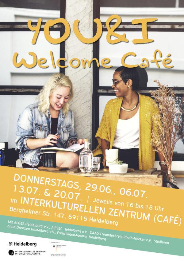 Heidelberg – YOU&I – Welcome Café im Interkulturellen Zentrum – Plattform zum Kennenlernen startet am 29. Juni