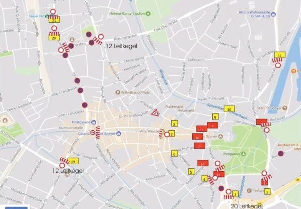 Speyer – Verkehrsregelungen und Ablaufplan anlässlich der Trauerfeierlichkeiten für Dr. Helmut Kohl am Samstag, dem 1. Juli 2017
