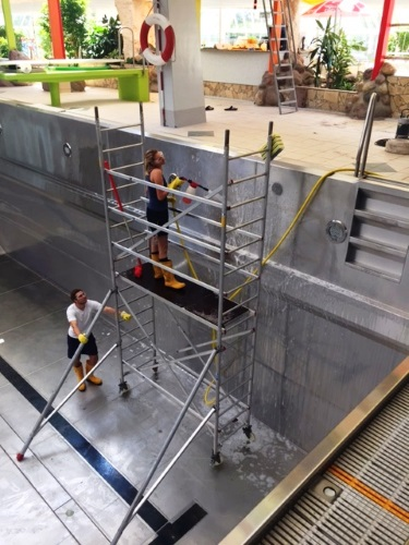 Landau – Frischer Wind im Freizeitbad LA OLA – Nächster Abschnitt der Sanierung der Lüftungsanlage abgeschlossen – Wiedereröffnung am Samstag, 24. Juni
