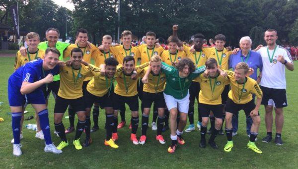 Edenkoben – U15-Auswahl holt Silbermedaille