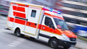 Mannheim – Motorradfahrer bei Unfall schwer verletzt