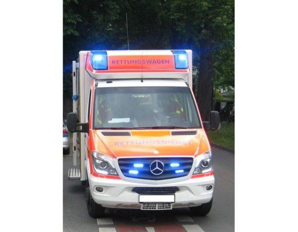 Limburgerhof – Erstmeldung: Auffahrunfall auf der B9