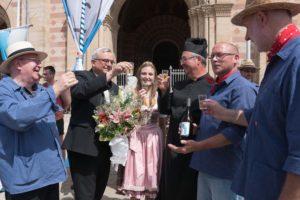 Speyer – Bischöfe freuen sich über Weinzehnt aus Kirrweiler