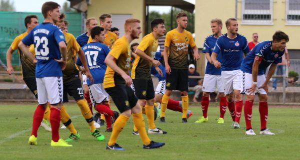 Mannheim – Vorzeitiges Ende beim bfv-Rothaus-Pokal für den VfR – 1:3-Niederlage beim VfB St. Leon