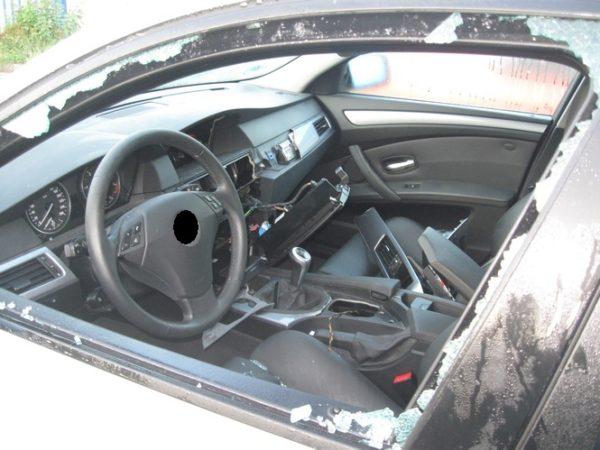 Ketsch – Autoaufbrecher haben es auf Navis und Multifunktionslenkräder von BMW abgesehen!